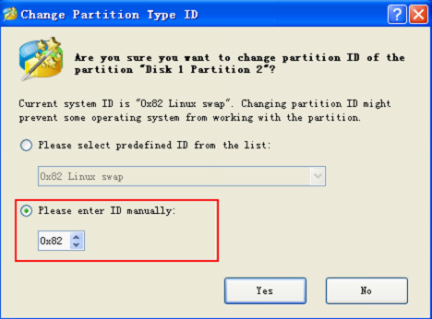 What Is And How To Change Partition Type Id
